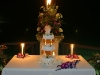 candle-caribbean-wedding-cake