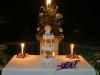 candle-caribbean-wedding-cake