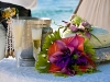 caribean-wedding-cake-flowers