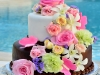 chocolate-flower-caribean-wedding-cake