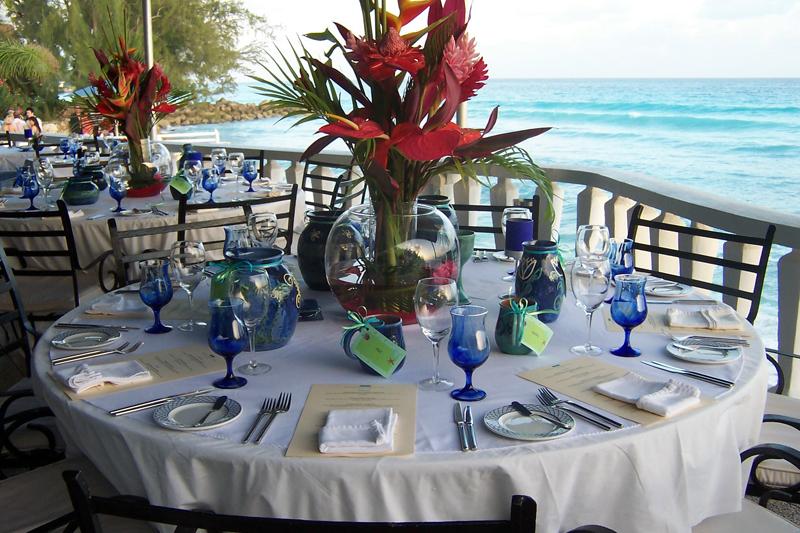 Wedding decor services barbados weddings your for Caribbean decor
