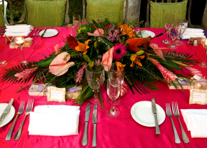 caribbean-wedding-table