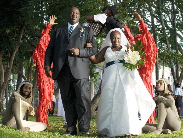 bride-groom-barbados-wedding-circus