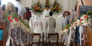 Caribbean Church Wedding