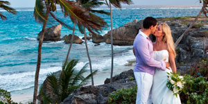 Caribbean Cliff Side Wedding