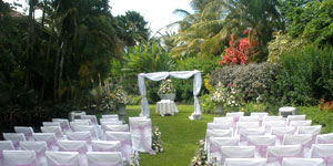 Caribbean Garden Wedding