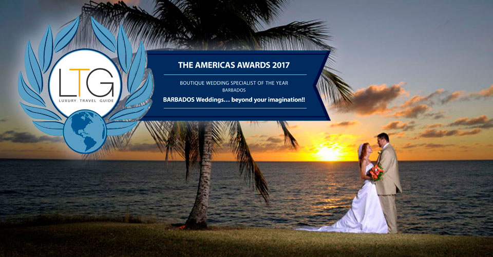 Barbados Weddings - Boutique Wedding Specialist of the Year 2017
